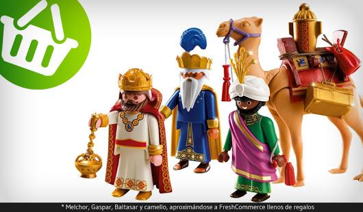 Los reyes magos compran on-line